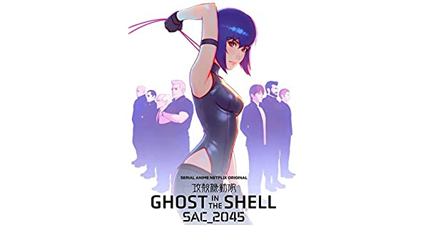 Amazon Com Ghost In The Shell Sac 2045 14inch X 18inch Plastic Poster Waterproof Anti Fade Outdoor Garden Bathroom Home Kitchen