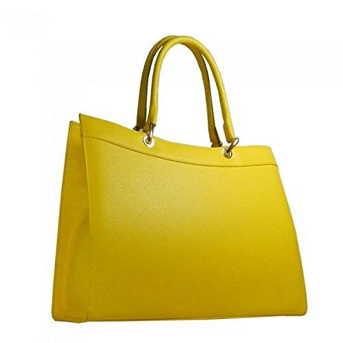 Diletta Bag Sac en cuir (fuchsia) Jaune