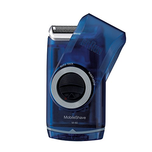 Braun PocketGo MobileShave Portable Shaver with SmartFoil (Braun Razor Battery compare prices)
