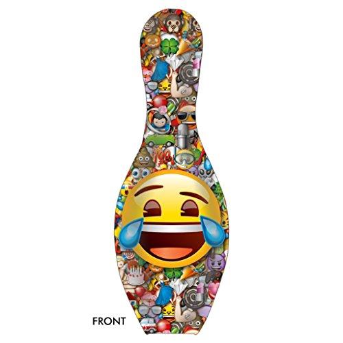 Emoji Laugh-Cry Bowling Pin