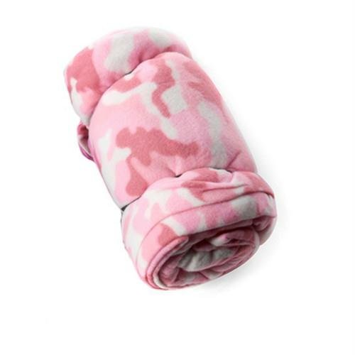 Texsport Fleece Sleeping Bag/Liner – Pink Camouflage, Outdoor Stuffs