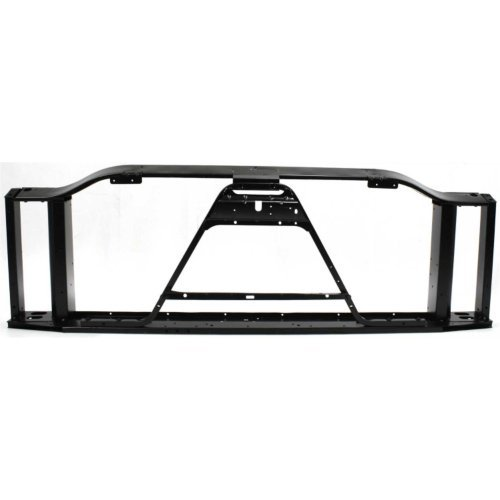 Garage-Pro Radiator Support for CHEVROLET SILVERADO P/U 03-06 Assembly Black Steel Includes 2007 Classic