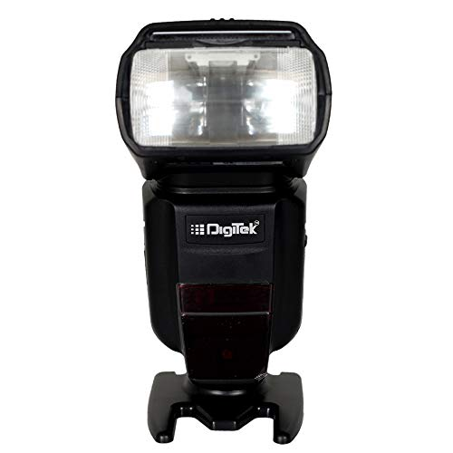 Digitek DFL-100T Electronic Flash Speedlite with TTL for Canon EOS 1300D, 200D, 200D Mark II and All Other Canon DSLRs