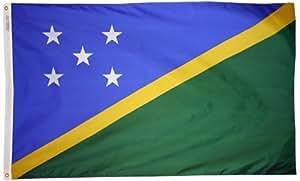 Solomon Islands - 2' x 3' Nylon World Flag