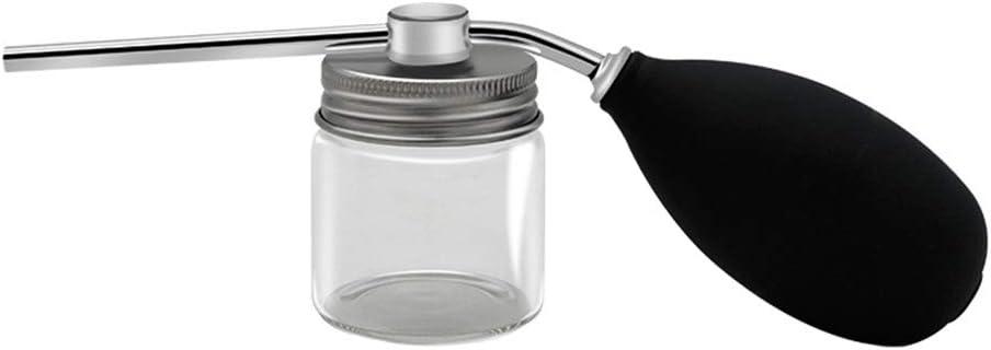 Botella de Spray de Fibra Capilar Boquilla de Engrosamiento de Aplicador de Precisión Recipiente de Polvo de Rebrote Transparente