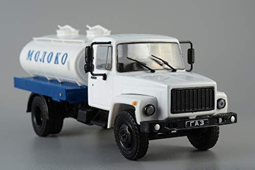 GAZ-3307 Russian Milk Tanker 1989 Year 1/43 Scale Collectible Diecast Model - Tanker Milk