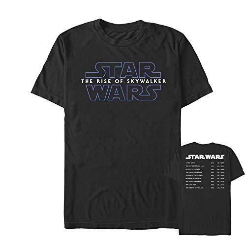 Star Wars: The Rise of Skywalker Men's Movie Premieres Black T-Shirt