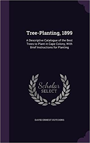Book Tree-Planting, 1899: A Descriptive Catalogue of the Best Trees to Plant in Cape Colony, With Brief Instructions for Planting