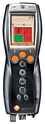 Testo 330-2G LL Kit 2 - Industrial Combustion Analyzer with NOX (400563 3372)