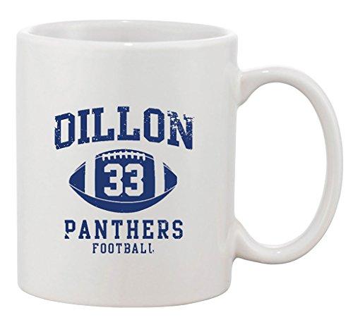 Dillon Mug - Dillon 33 Football Retro Sports Fan Ball TV Funny DT Ceramic White Coffee Mug