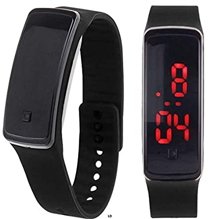 Image Unavailable. Image not available for. Color: SolarM LED Digital Sport Watch Wristband Relojes Deportivos para Hombres