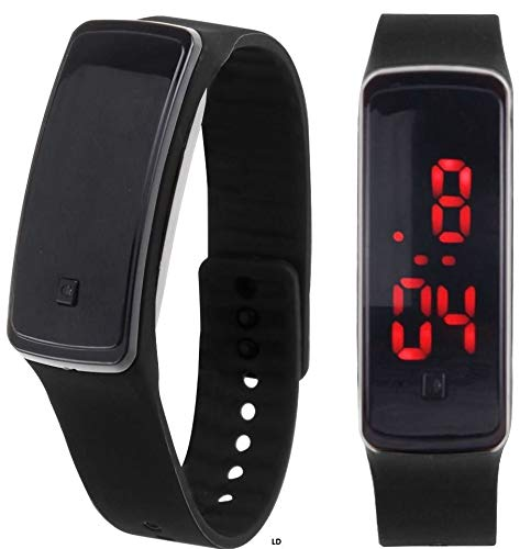 Amazon.com : SolarM LED Digital Sport Watch Wristband Relojes Deportivos para Hombres : Sports & Outdoors