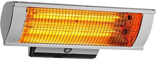電気テラスのヒーター,防水赤外線ヒーター 付き中庭天井ガーデンの使用,銀