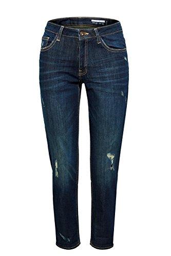 Bleu 901 Jean Wash Esprit by Blue Femme Boyfriend edc Dark q4X7FHwx