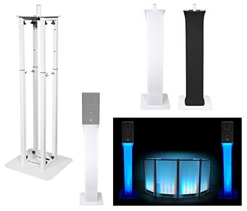 - (1) Rockville White Adjustable Totem Stand For Gemini GVX-10P 10