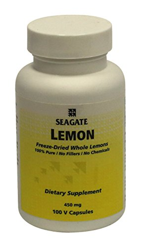 Seagate Products Whole Lemon Concentrate Supplements 450 mg 100 Capsules