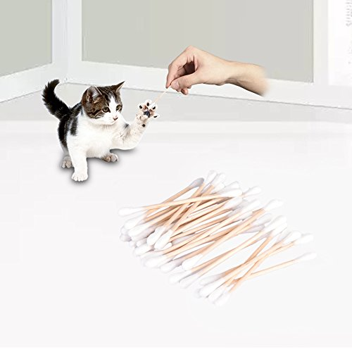 Ear-Cleaners-for-Dogs-Cats-80-Pcs-Disposable-Double-Ended-Wood-Tube-Pet-Cotton-Swabs-by-Awtang