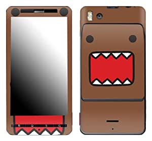 Zing Revolution MS-DOMO10151 Domo - Face Cell Phone Cover Skin for Motorola Droid X/X2