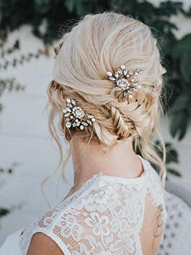 Unicra Wedding Crystal Headpieces Accessories product image