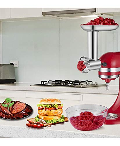 HOZODO Metal Kitchen Aid Mixer Accessories as Food Processor