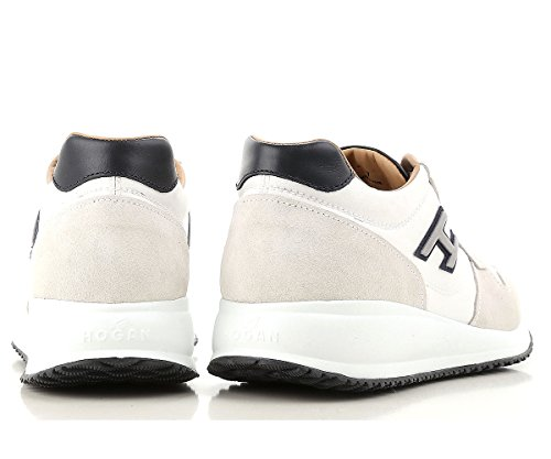 Uomo Scarpe H Interactive Flock Sneaker HXM2460K670IGH1353 N20 Bianco Hogan THz5qq