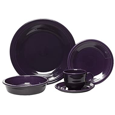 Fiesta 5-Piece Place Setting, Plum
