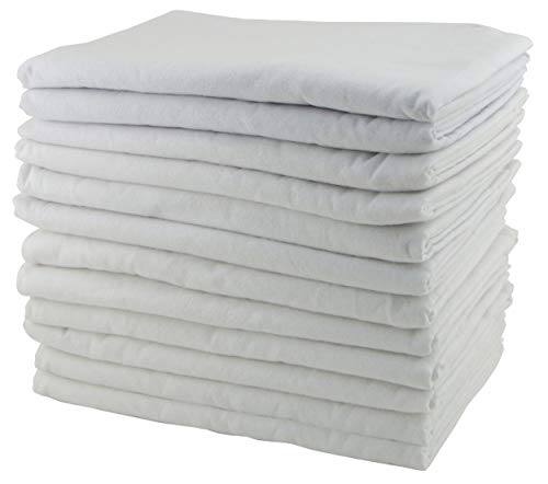 Mats Rest Care Day (ECR4Kids Daycare Cot Rest Time Blanket for Kids, White (12-Pack))