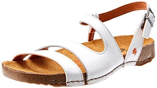 Sandali i Breathe Grass bianco donna bianchi da bianco Art 1003 Open White Toe wpqZaxA4W