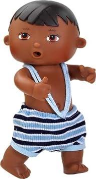 Amazon.es: Paola Reina - Paco, muñeco bebé negrito, de Vinilo, 22 cm (23563): Juguetes y juegos