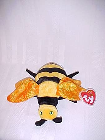 Image Unavailable. Image not available for. Color  Ty Beanie Babies Buzzie  the Bumble Bee ... 42fced8396da