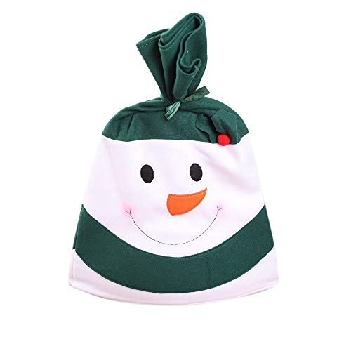 Willsa Christmas Snowman Kitchen Table Chair Covers Holiday Home -