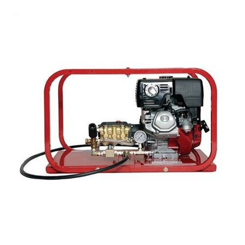 Rice Hydro TRH8 Hydrostatic Test Pump, Plunger Pump, 4 gpm Up to 3600 psi, Pressure Testing, 4 Cycle Honda Engine with Oil Alert, 13 hp