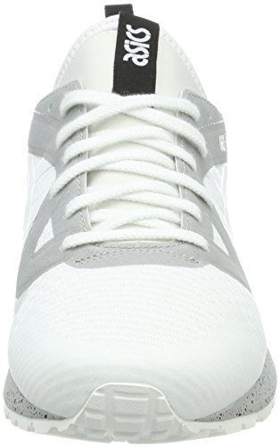 NS Gel Adulte Baskets Blanc Basses Asics Lyte White Mixte V Gris nFOx44g