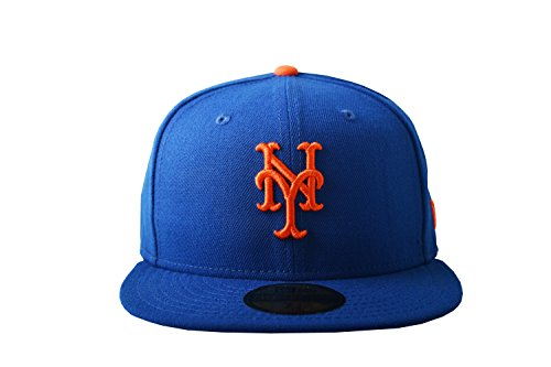 New Era 59FIFTY New York Mets MLB 2017 Authentic Collection On-Field Game Fitted Hat Size 7 (Mlb New Era Fitted Hat)