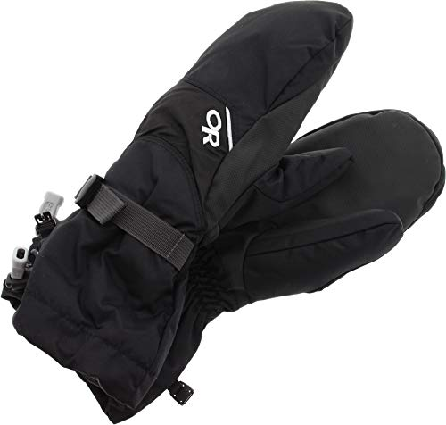 Outdoor Research Fleece Mittens - Outdoor Research Men's Adrenaline Mitts, Black, Small