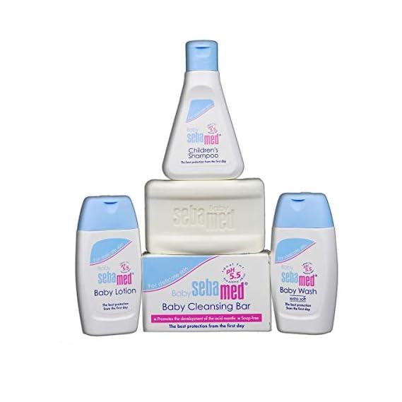 SebaMed Baby Care Kit - Pack of 4, White
