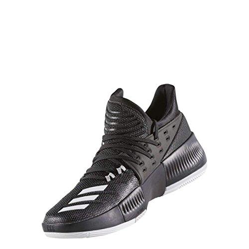 Adidas Heren Dame 3 Basketbalschoen Zwart / Wit