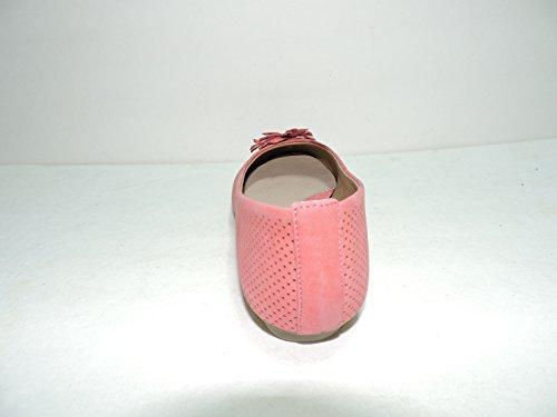 Hush Puppies womens Cala Pink leather Flats slip on shoes GPrapaPif