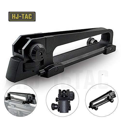 HJ-TAC Premium Detach Dual Aperture Rear Sight Carry Mount Flat Top