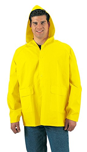 Rothco PVC Rain Jacket, Yellow, X-Large