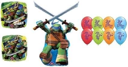 Amazon.com: LoonBalloon TEENAGE Mutant NINJA TURTLES (9 ...