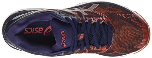 ASICS Men's Gel-Nimbus 19, Peacoat/RED Clay Peacoat/Red Clay