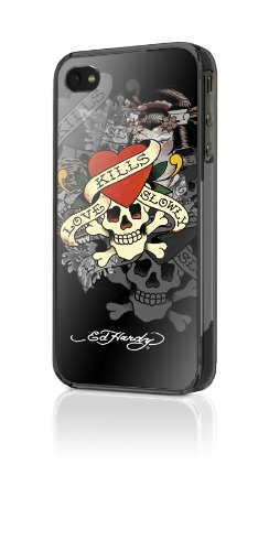 Ed Hardy Snap-On Case for iPhone 4 - Love Kills Slowly - ...