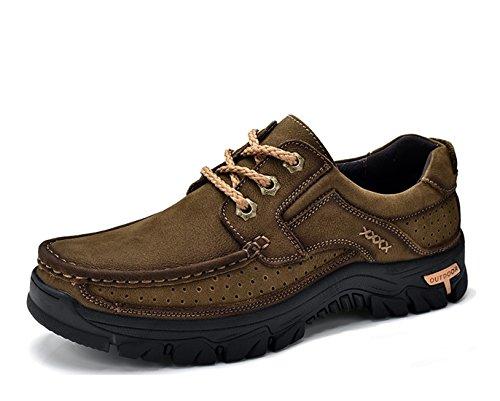 Miyoopark UK-XCR9887B, Herren Sneaker, Dunkles Kaki - Größe: 39