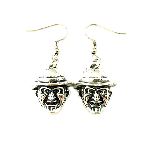 Freddy Krueger Dangle Earrings Horror Films Classic Movies Cartoons Premium Quality Jewelry