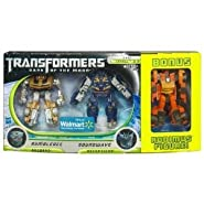Transformers 3 Dark of the Moon Movie Exclusive Cyberverse Legion Class Action Figure 3Pack Bumblebee vs. Soundwave with Bonus Rodimus