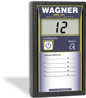 Wagner Meters MMC205 Shopline 5% to 20% Pinless Digital Wood Moisture Meter by Wagner Meters