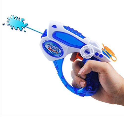 Tailbox Water Squirt Guns - Super Soaker Sci-fi Design Blaster Toy Water Gun for Kids (Blue) -