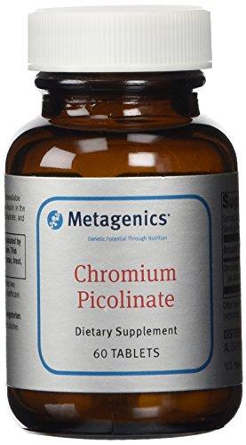 Metagenics cromo picolinato tabletas, cuenta 60