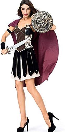 Cosplay De Halloween Guerrero Femenino Espartano Antiguo Romano ...